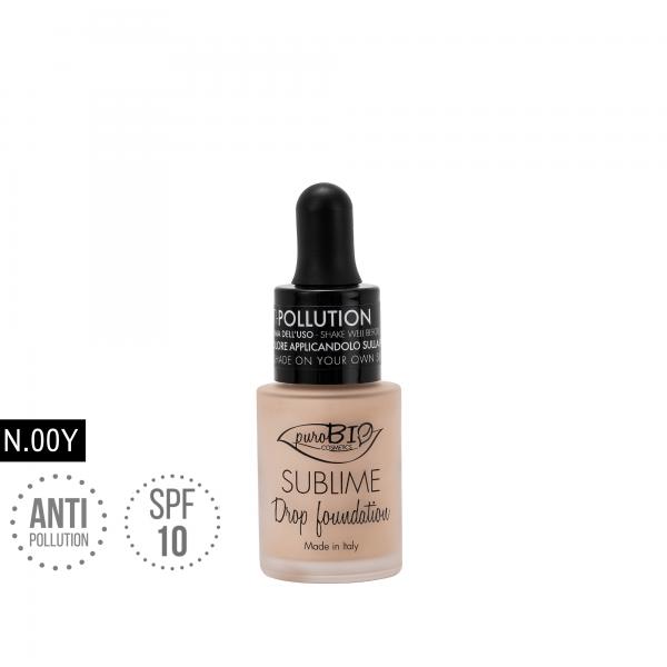 Sublime Drop Foundation 00y - Purobio