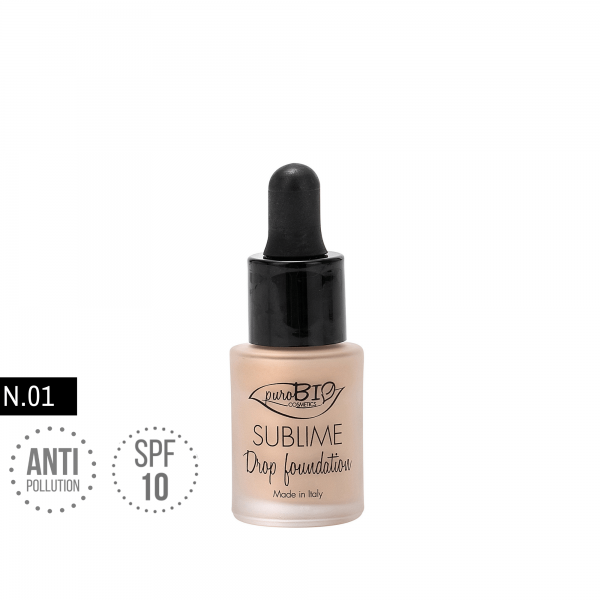 Sublime Drop Foundation 01 - Purobio