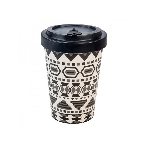 BAMBOO CUP AZTEC WHITE/BLACK BLACK