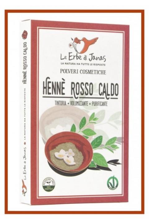 HENNÈ ROSSO CALDO - Le erbe di Janas