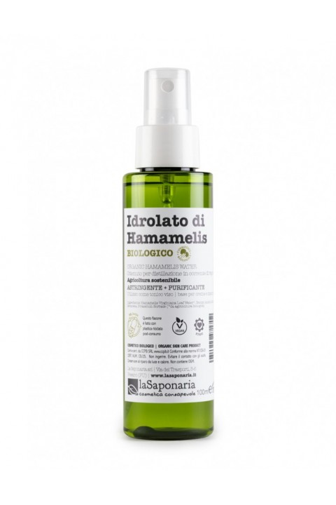 Idrolato di hamamelis bio - La Saponaria