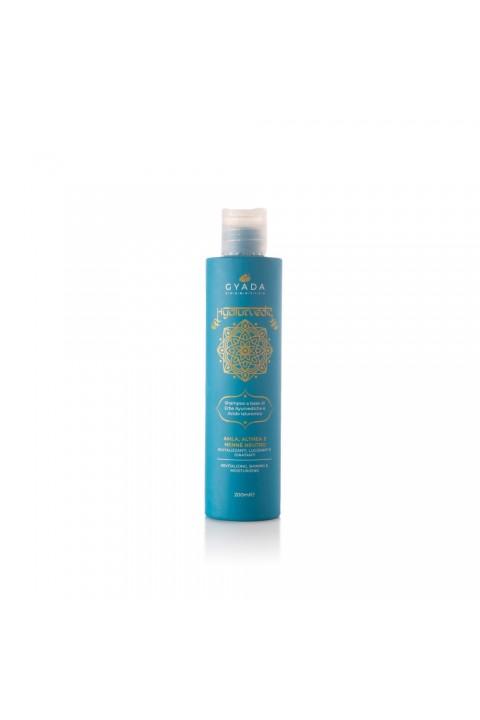 Hyalurvedic Shampoo Rivitalizzante - Amla, Althea, Hennè Neutro - Gyada