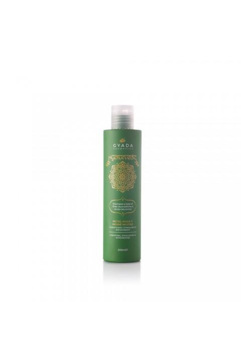 Hyalurvedic Shampoo Fortificante - Methi, Maca, Hennè Neutro - Gyada