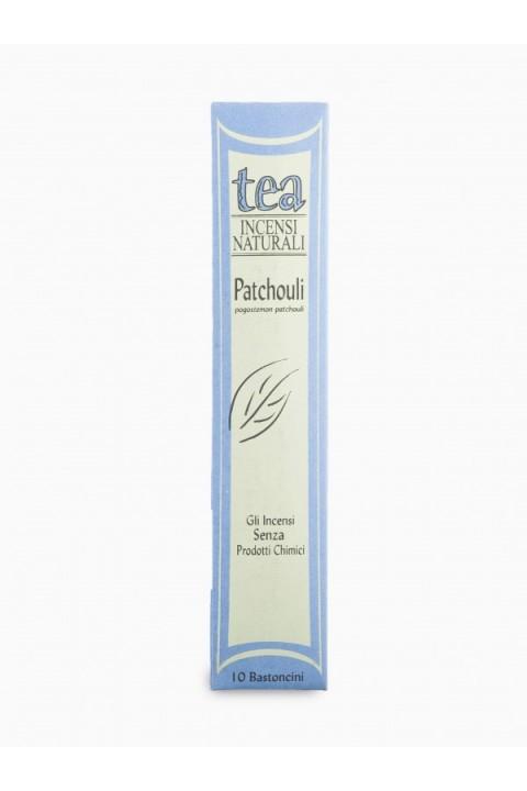 Incenso Patchouli 10 bastoncini - Tea natura
