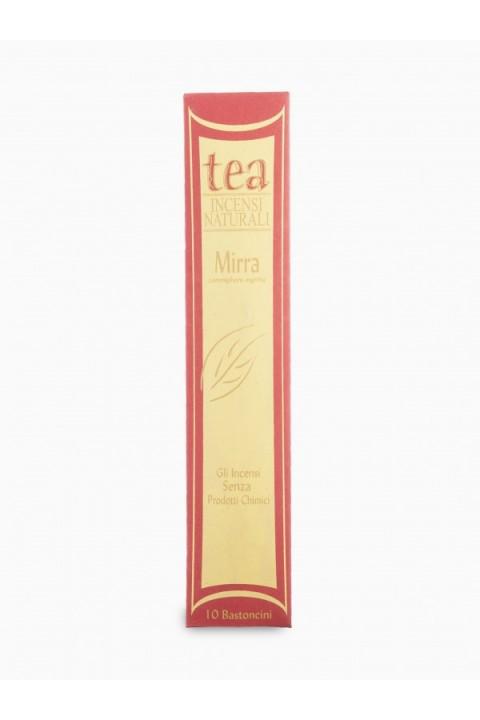 Incenso Mirra 10 bastoncini - Tea natura