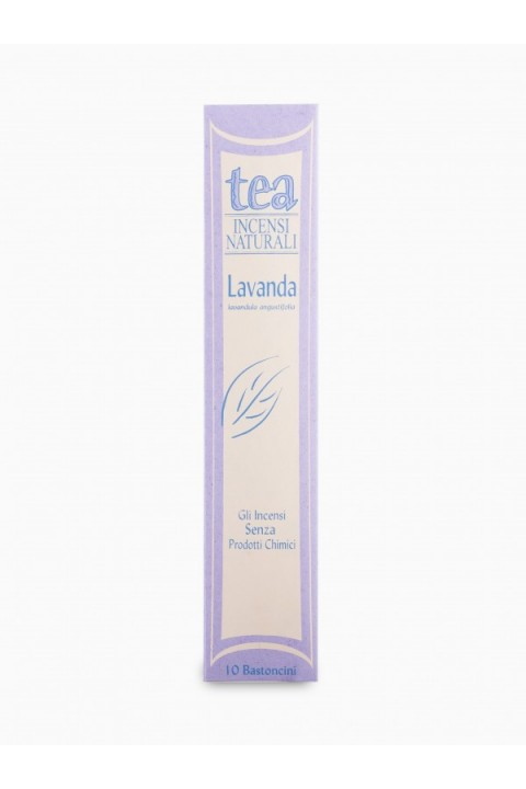 Incenso Lavanda 10 bastoncini- Tea natura