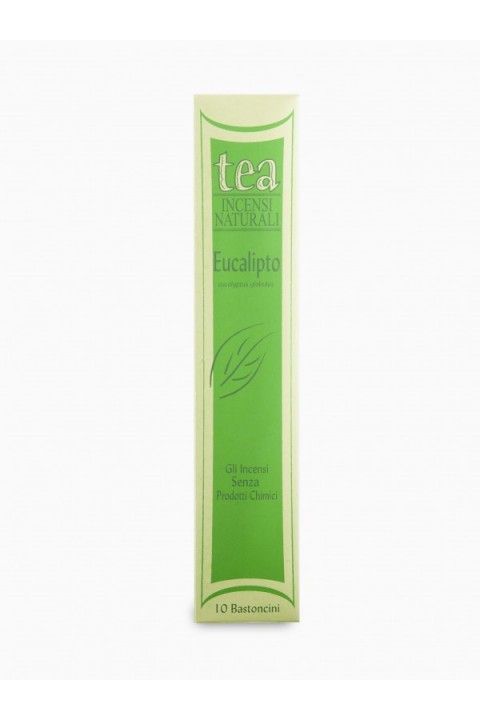 Incenso Eucalipto 10 bastoncini - Tea natura