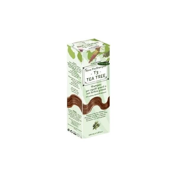T3 – TEA TREE – SHAMPOO FORFORA GRASSA - Alma briosa