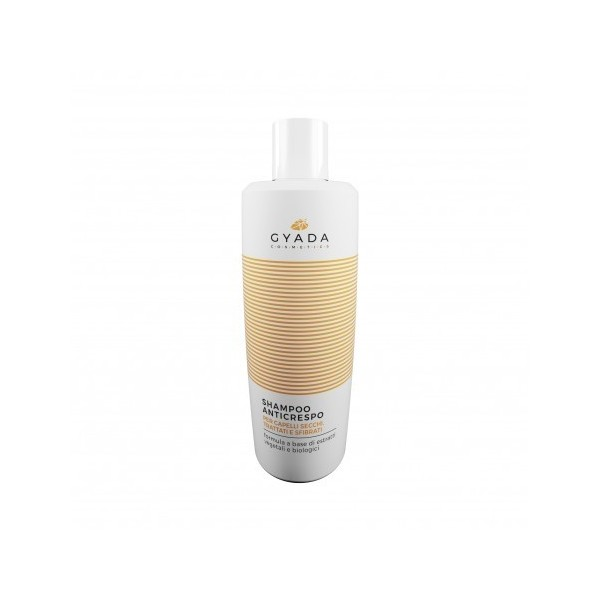 Shampoo Anticrespo: per capelli secchi, trattati e sfibrati  - Gyada