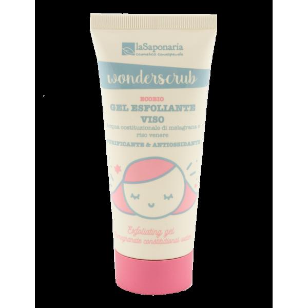 WonderScrub - Gel esfoliante viso - La Saponaria