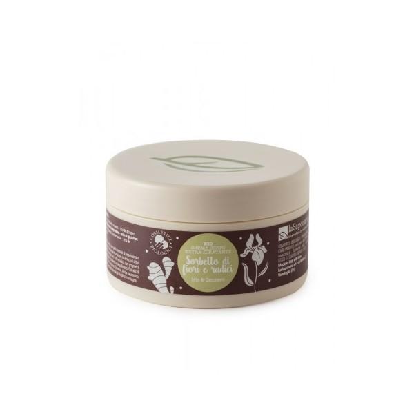 Crema corpo idratante - Sorbetto di fiori e radici - La Saponaria