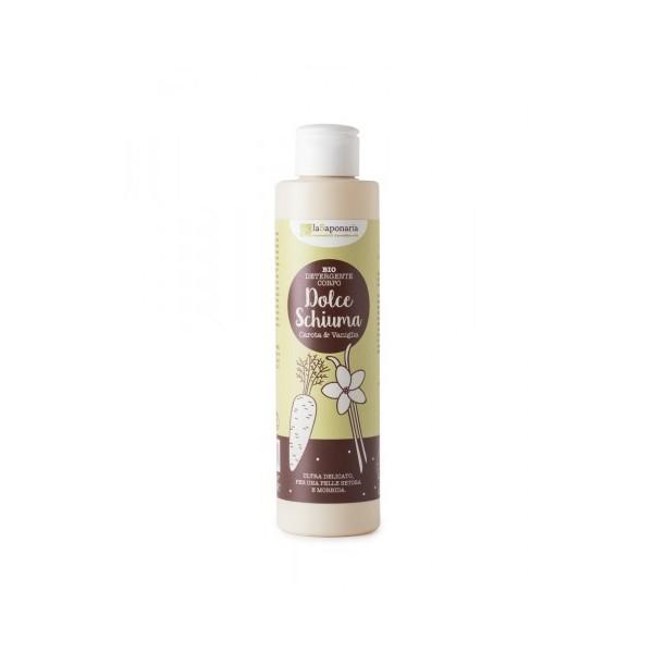 Detergente corpo Vaniglia e Carota - La Saponaria