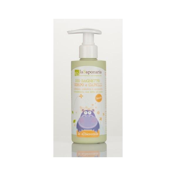 Bio bagnetto corpo e capelli - La Saponaria