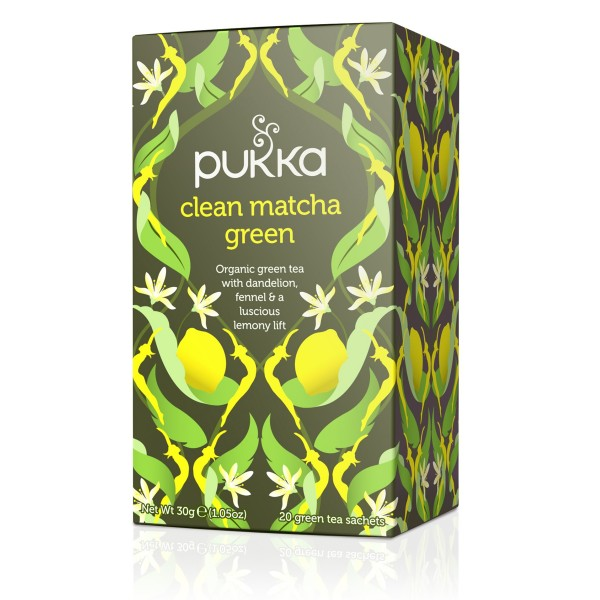 Clean Matcha Green - Pukka